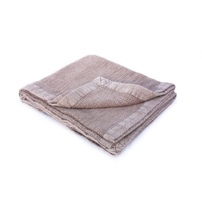 Vintage wash blanket - Mulberry