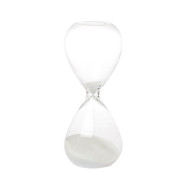 hour glass white
