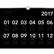 an-organised-life_2017-wall-calendar_a3_cover