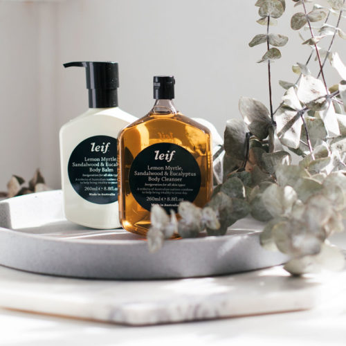 lief lemon myrtle body cleanser