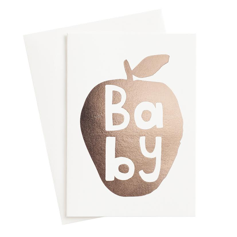 Special Occasion Card – Baby (mini card)