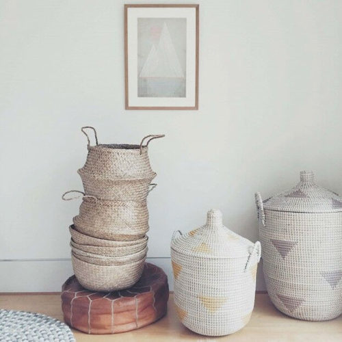 handmade natural baskets